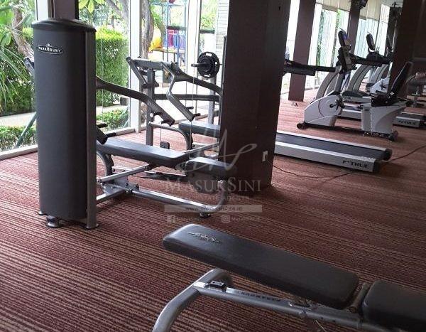 gym apartemen CW