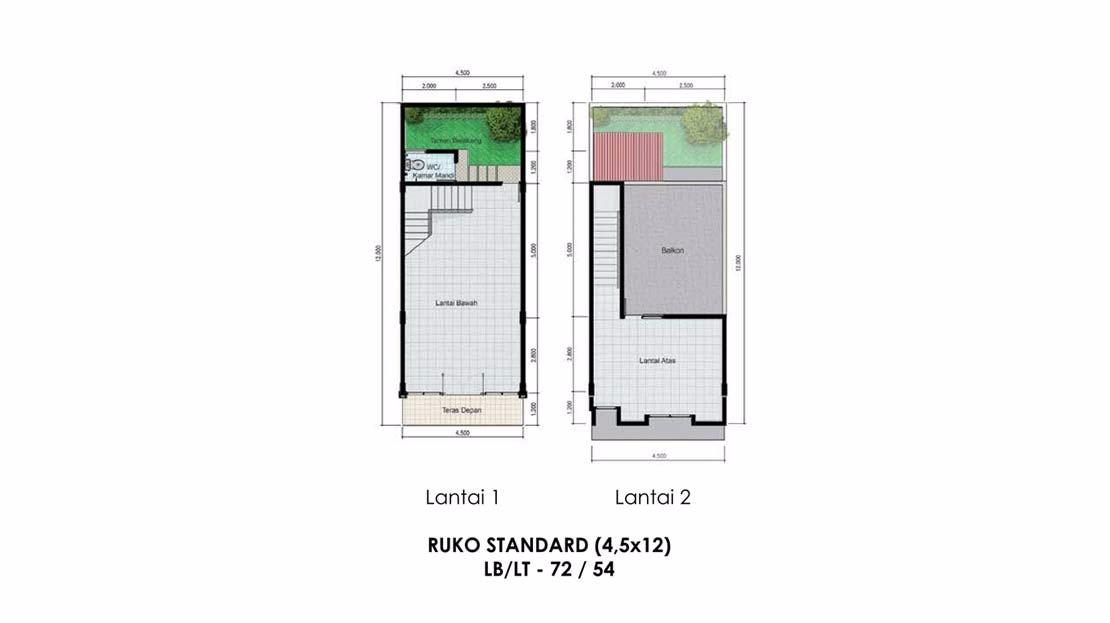 RUKO STANDART (4.5X12)
