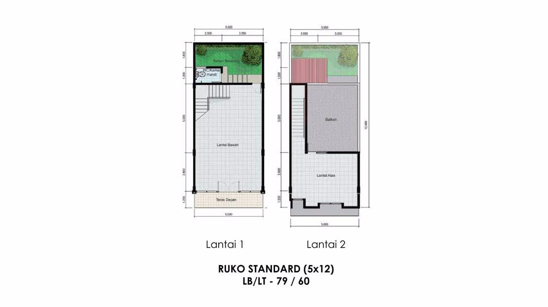 RUKO STANDART (5X12)
