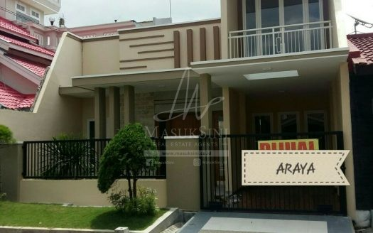 rumah dijual di araya