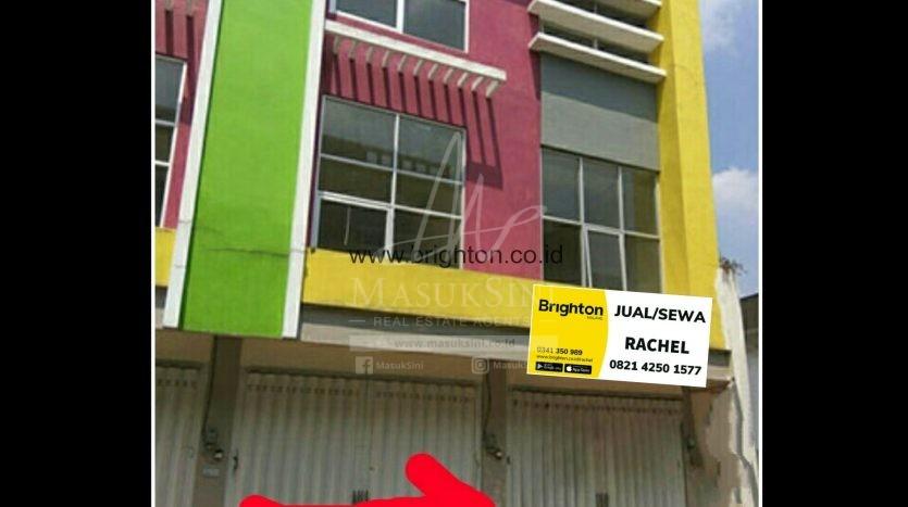 Dijual Sewa Ruko Pasar Besar 124 Malang