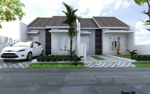 Rumah dijual Perum Griya Alamadi Type 36 Malang
