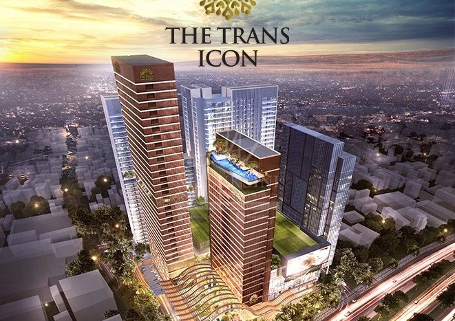 the trans icon apartment surabaya