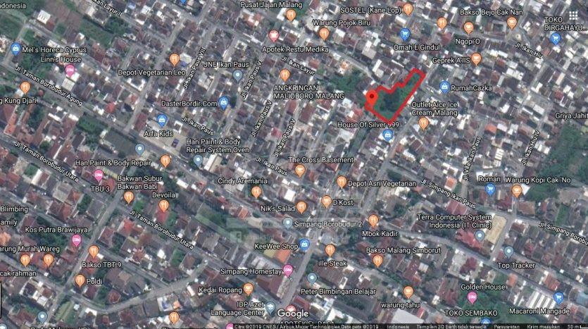 Tanah Dijual Jl Ikan Paus Lowokwaru Malang