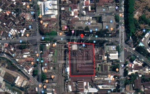 Gudang Dijual Jl Patimura Klojen Malang