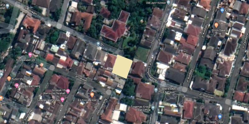 Tanah Dijual di Tidar Selatan Malang