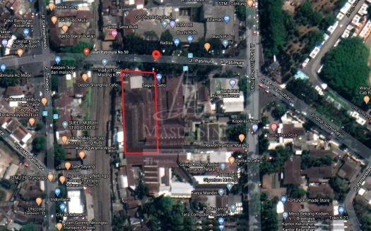 Dijual Gudang di Jl Patimura Klojen Malang