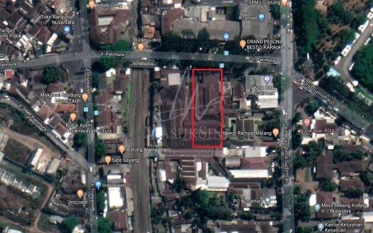 Gudang Dijual Jl.Patimura Klojen Malang