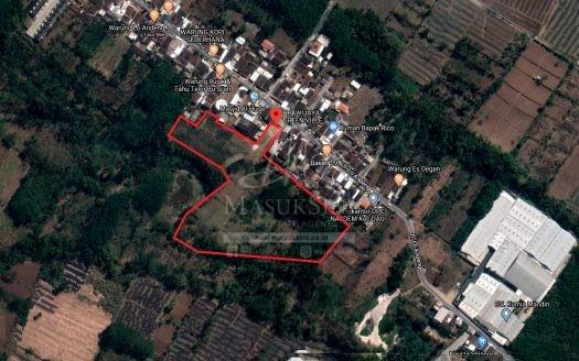 Lahan Luas Cocok Dibangun Gudang di Dau Malang