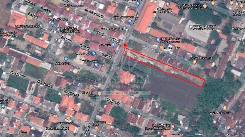 Tanah Dijual di Kota Pasuruan