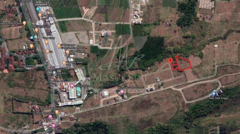 Tanah Dijual di Junrejo Batu Malang