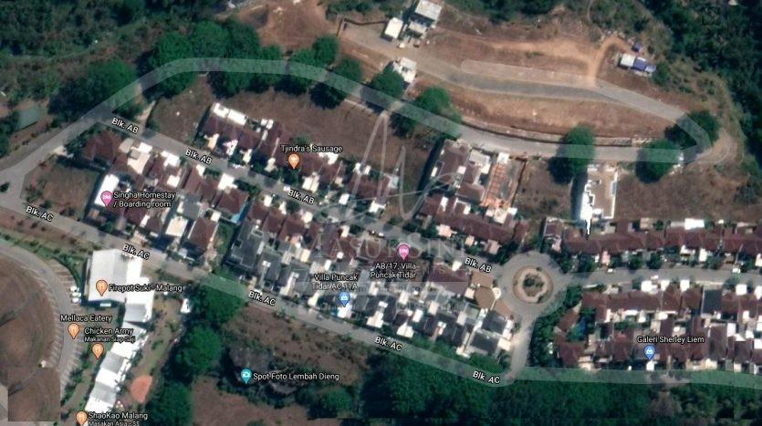 Tanah Kavling Dijual di Villa Puncak Tidar Malang