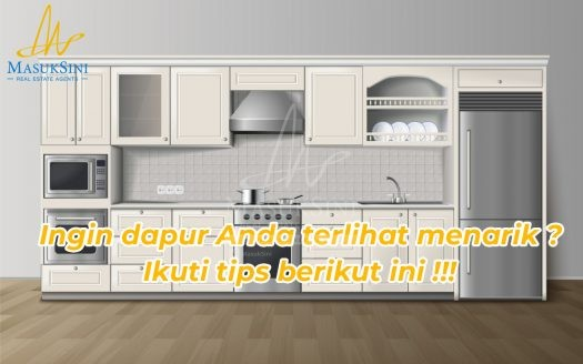 Bosan dengan layout dapur Anda