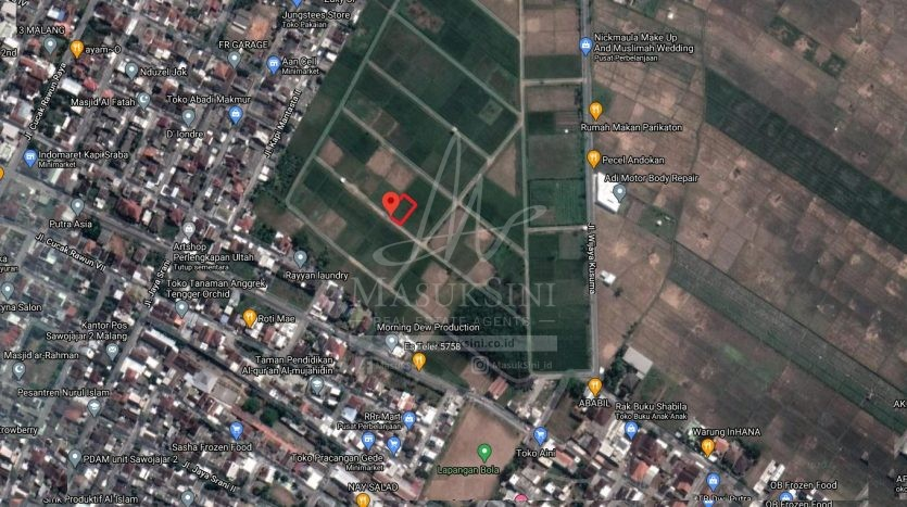 Tanah Dijual di Sawojajar 2 Malang