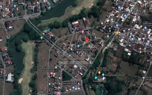 Tanah Graha Golf Araya Dijual di Malang