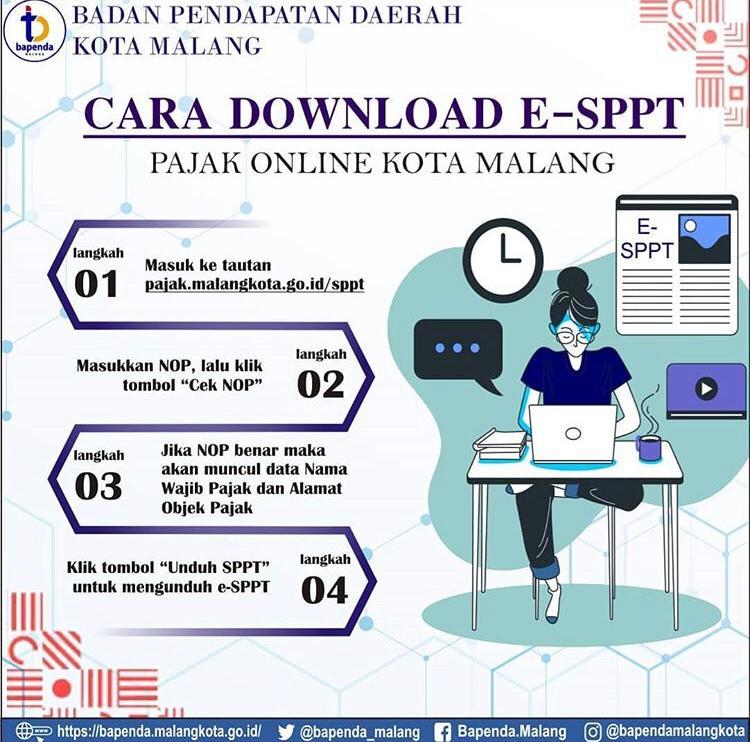 Cara Mendownload SPPT Online
