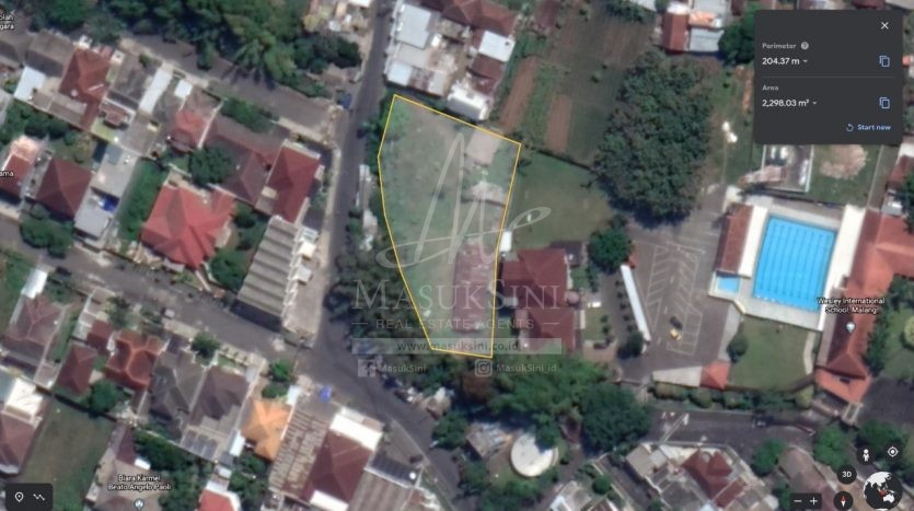 Dijual Murah Tanah Strategis di Tidar Malang