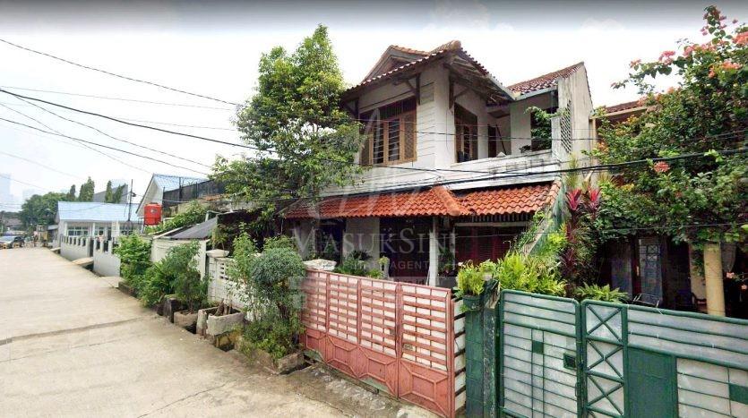 Rumah Dijual di Jl Pondok Jaya Jakarta Selatan
