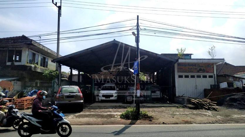 Tanah Terdapat Bangunan di Jl Raya Wendit Pakis Dijual di Pakis Malang
